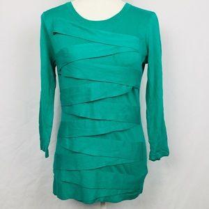 Vince Camuto Ladies Green Cross Mini-Dress Size S
